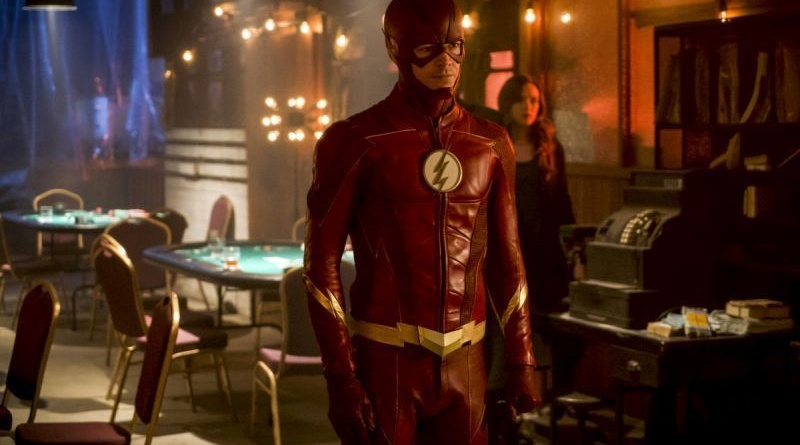 the-flash-harry-and-the-harrisons-review - the flash and caitlin