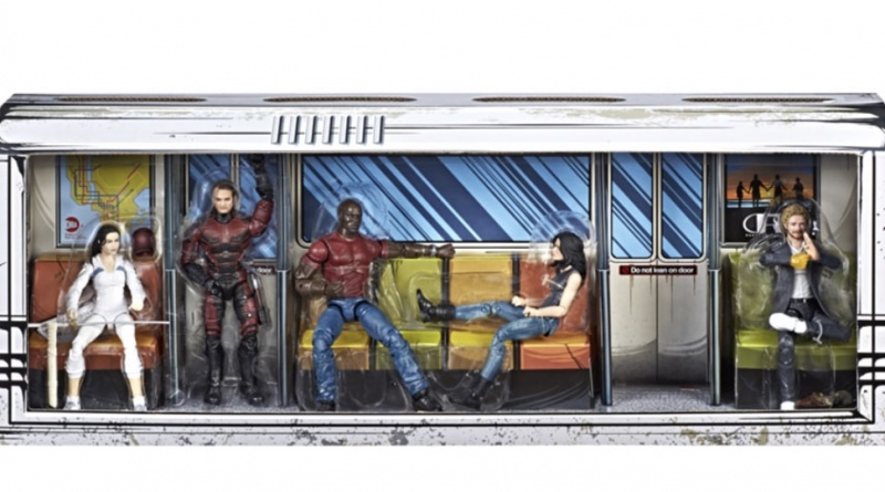 marvel Legends Defenders rail authority moc
