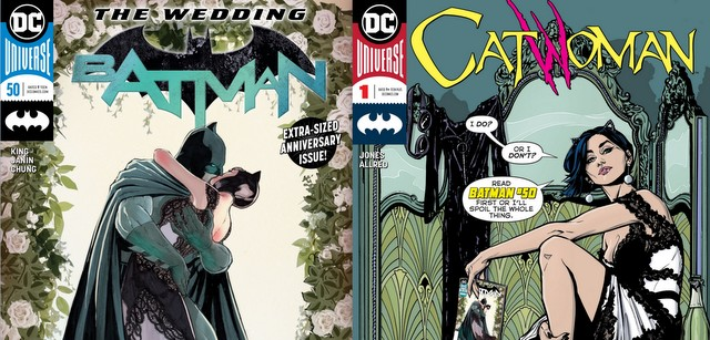 batman #50 and catwoman #1