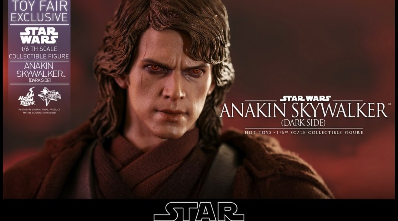 hot toys dark side anakin skywalker figure -main pic