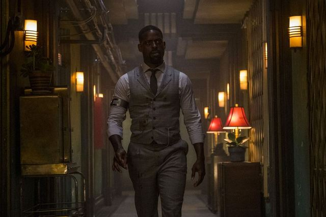 hotel artemis review - sterling k. brown