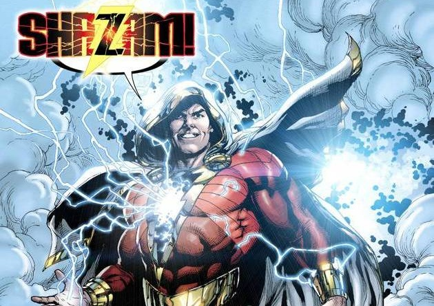 shazam coming from geoff johns and jason fabok