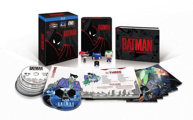 batman the animated series on blu-ray