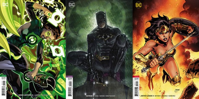 dc comics 7/18/18