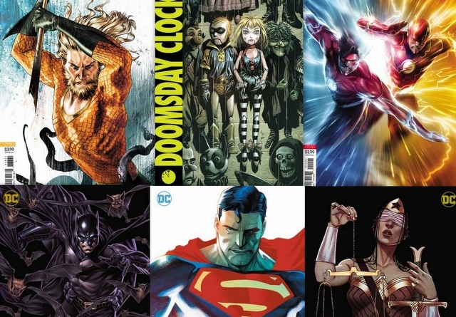 dc comics reviews for 7/25/18