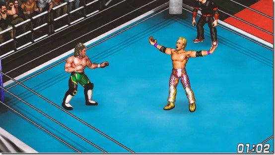 fire pro wrestling world - okada vs omega