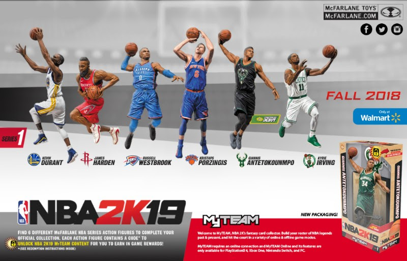 3e0f1d920757 McFarlane Toys dishes on new partnership with NBA 2K19 figure line ...
