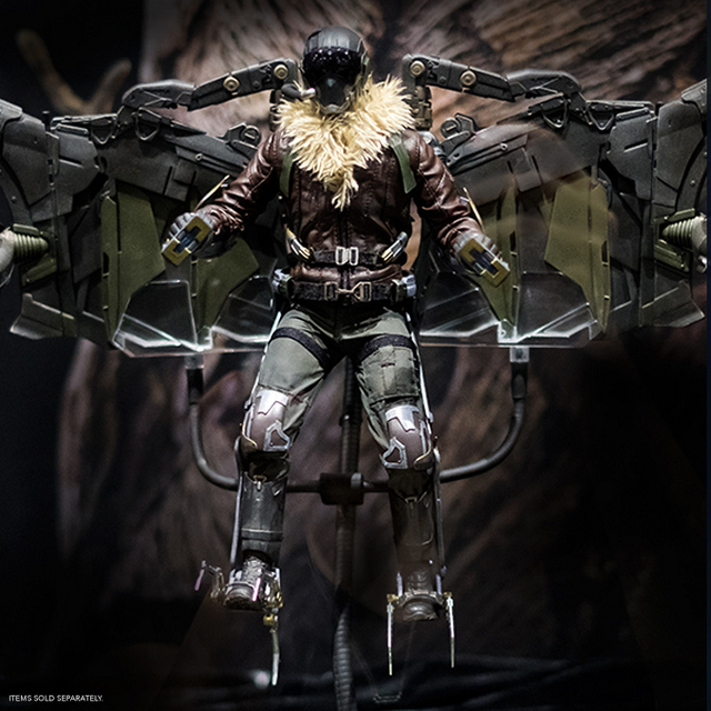 sdcc 2018 hot toys reveals -spider-man homecoming vulture