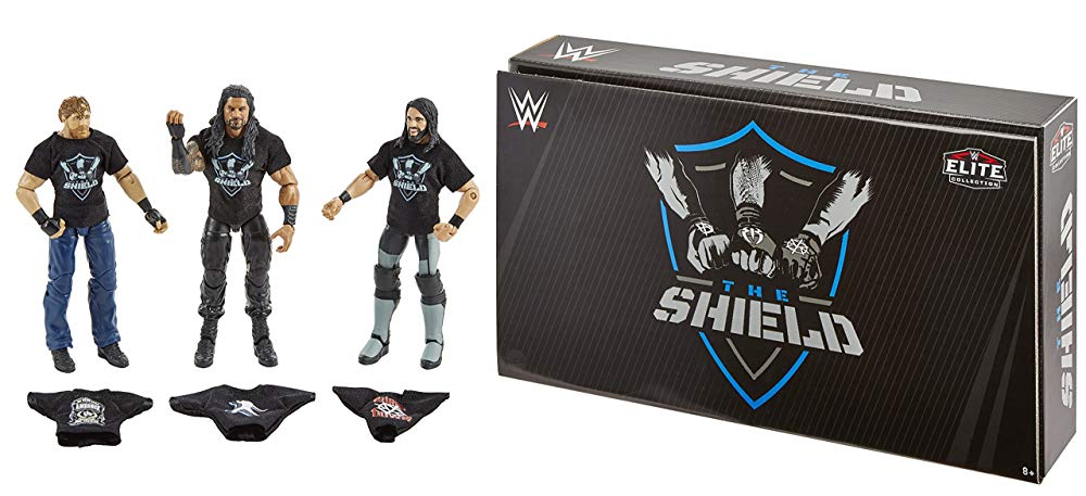 Image result for wwe mattel shield epic moments