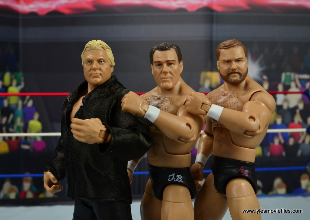 wwe fan central bobby heenan figure review - with brainbusters