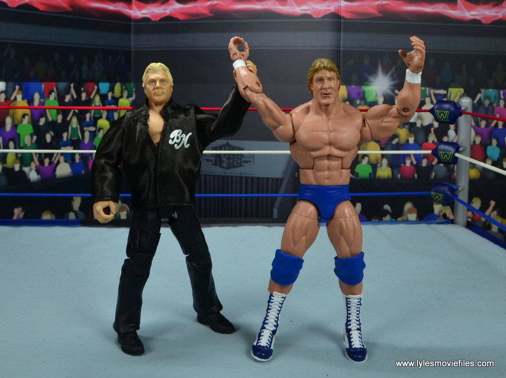 wwe fan central bobby heenan figure review - with paul orndorff