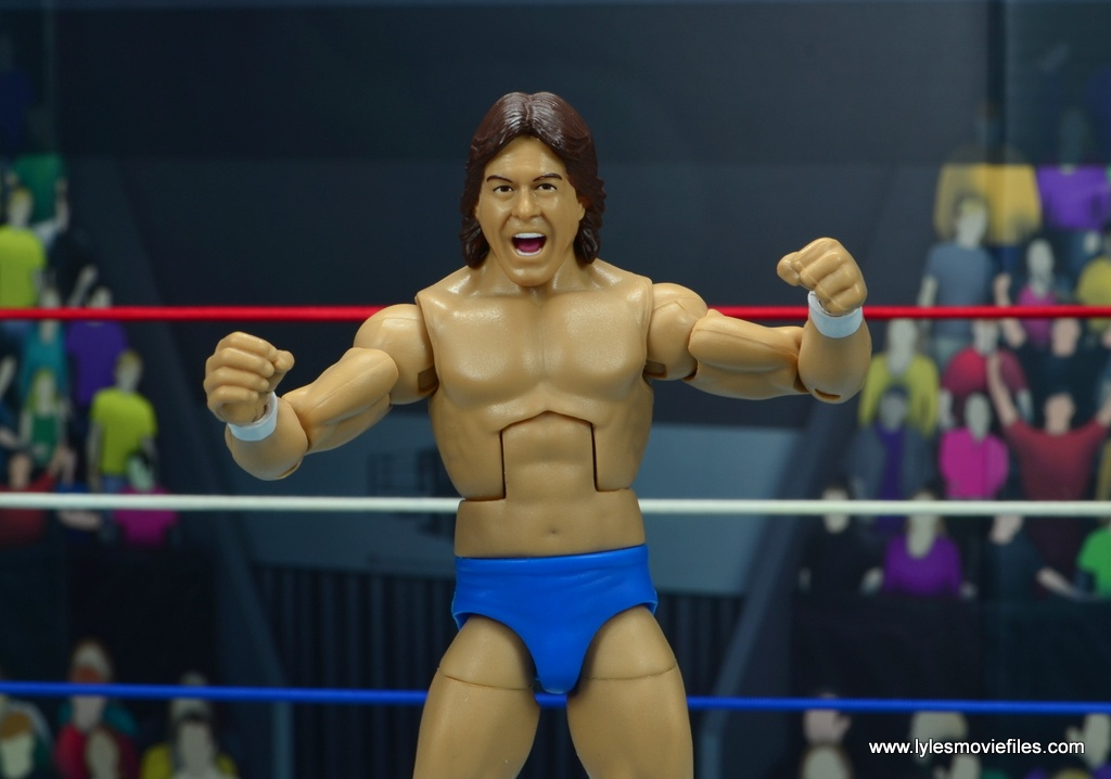 wwe hall of fame rowdy roddy piper figure review - no shirt wide