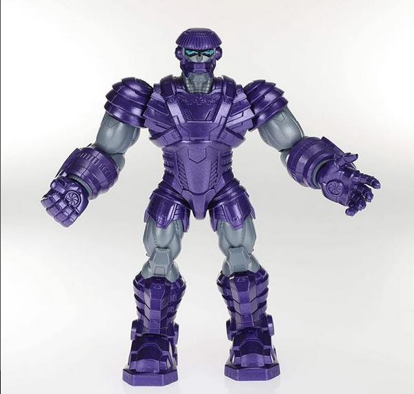 unboxing Toy Con Marvel Legends reveals - Kree Sentry