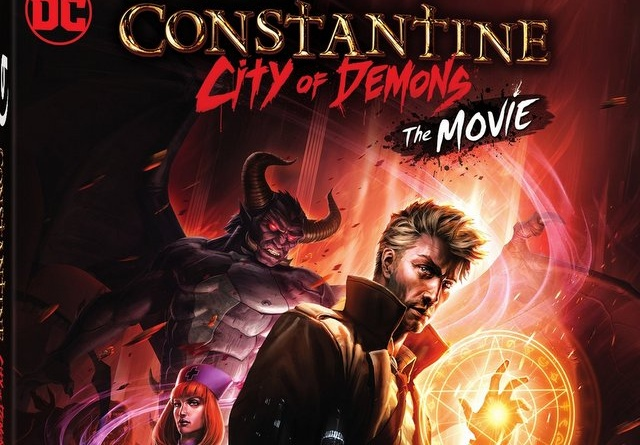 Constantine City of Demons Blu-ray