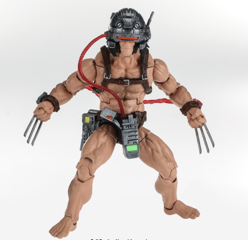 Fan expo Canada 18 marvel legends weapon x