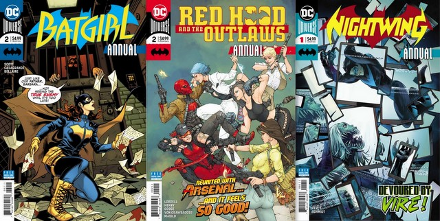 dc comics reviews 8/29/18