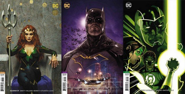 dc comics reviews for 8/15/18