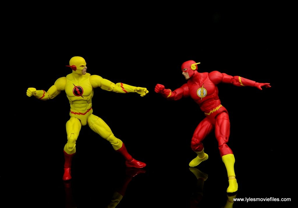 dc essentials reverse-flash figure flash -avoiding the flash