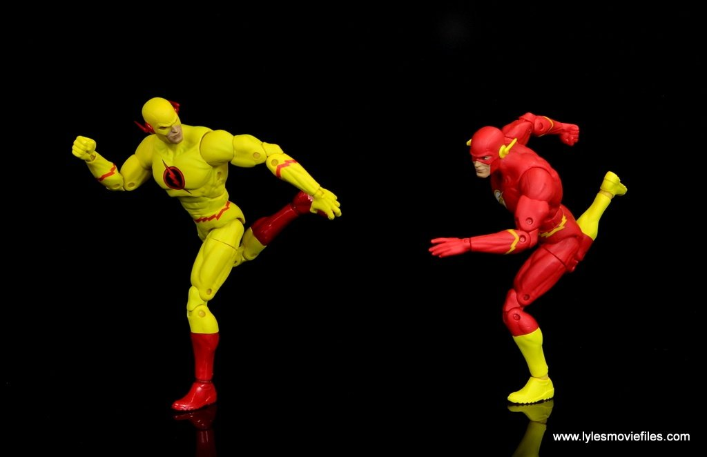 dc essentials reverse-flash figure flash -racing the flash