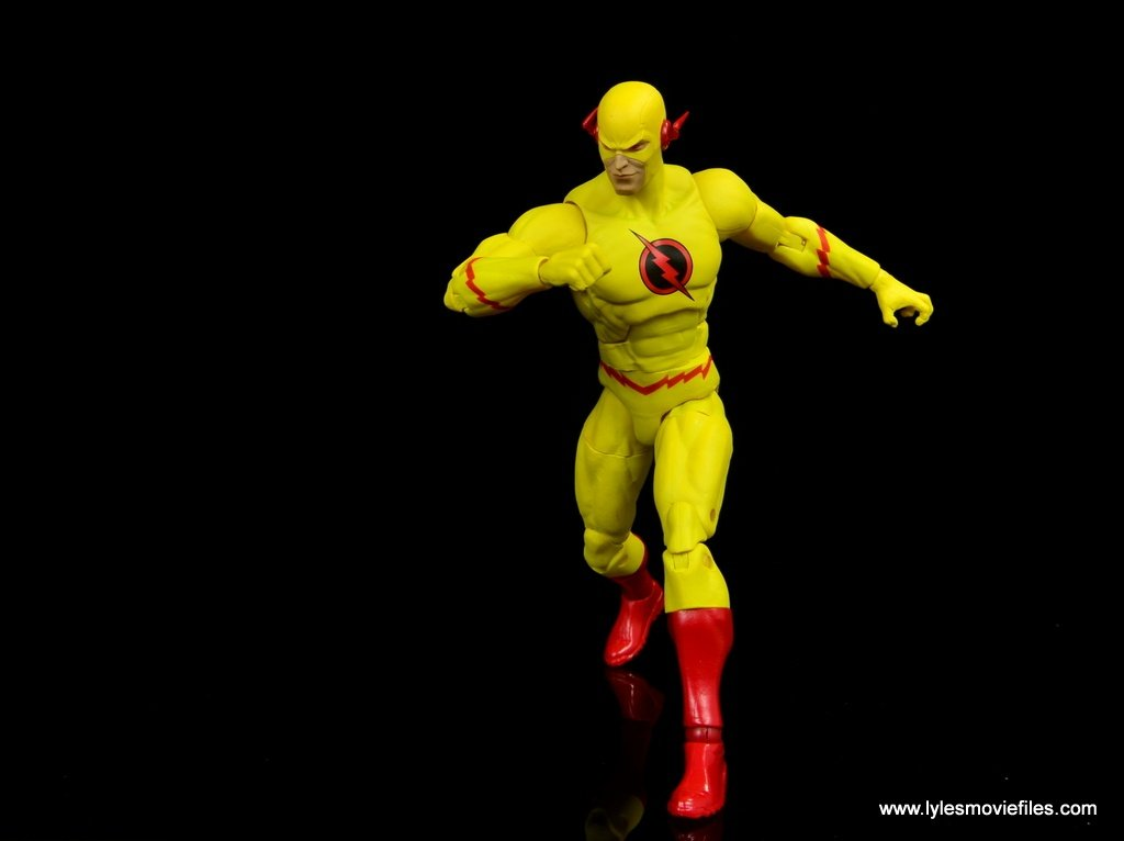 dc essentials reverse-flash figure flash - running