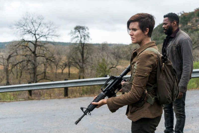 fear the walking dead good out here review - althea and strand