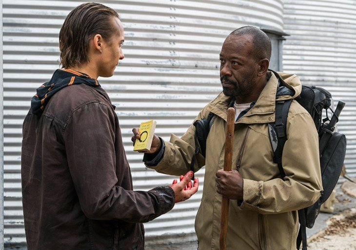 fear the walking dead good out here review - nick and morgan