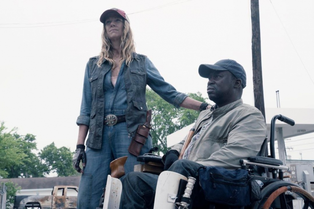 fear the walking dead the code - sarah and wendell