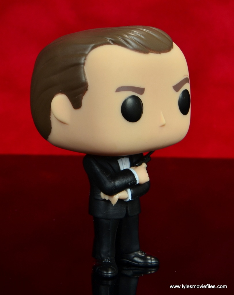 funko pop james bond figure review - right side