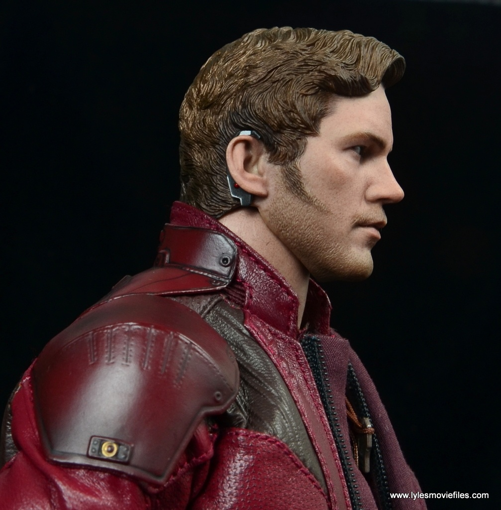 hot toys guardians of the galaxy vol. 2 star-lord figure review ear rig