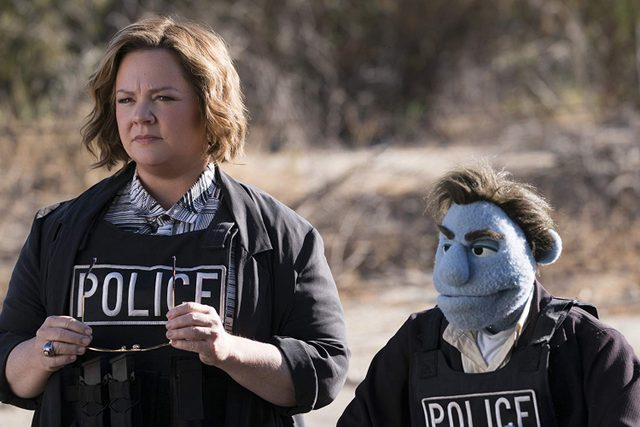 the happytime murders - melissa mccarthy and phil phillips