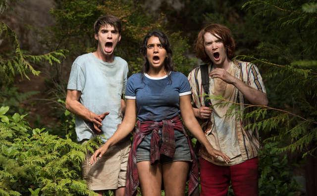 the package movie review - Daniel Doheny, Geraldine Viswanathan, Luke Spencer Roberts