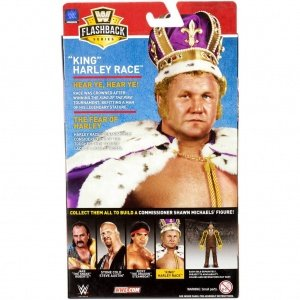 wwe flashback elite set harley race package rear