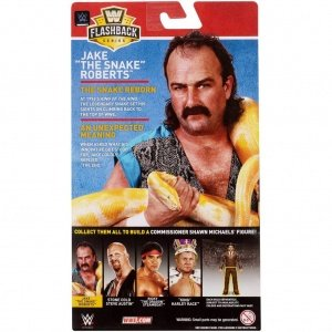 wwe flashback elite set jake the snake roberts package rear