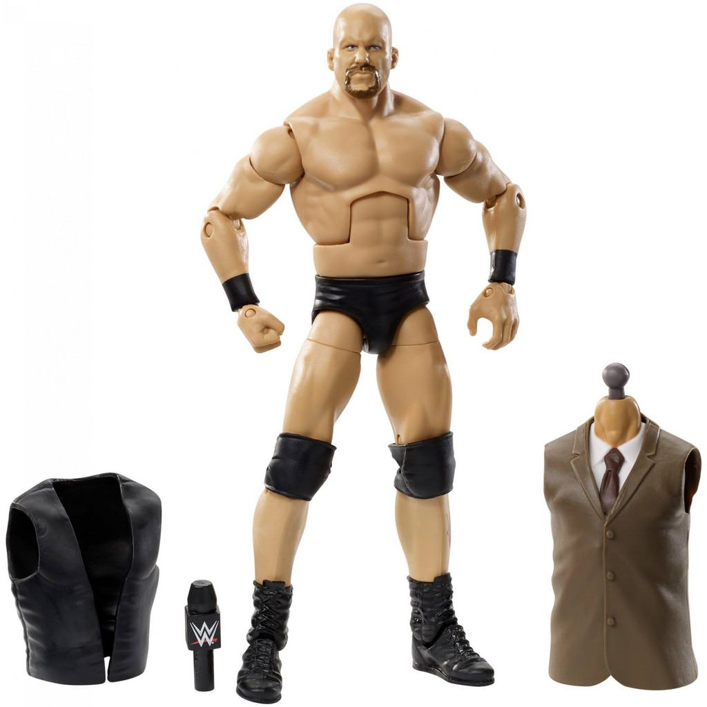 wwe flashback elite set stone cold steve austin accessories