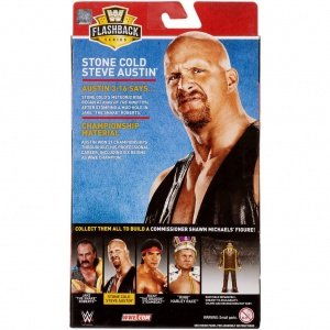 wwe flashback elite set stone cold steve austin package rear