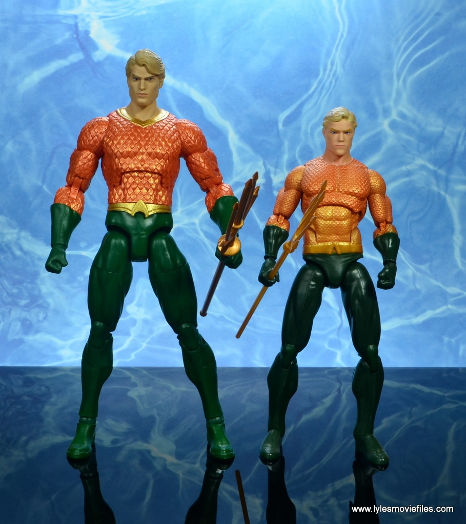 dc essentials aquaman action figure review - with dc icons aquaman