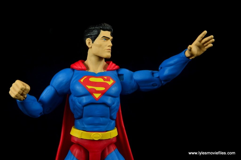 dc essentials superman review -about to go up in the air