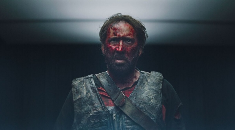 mandy movie review - nicholas cage