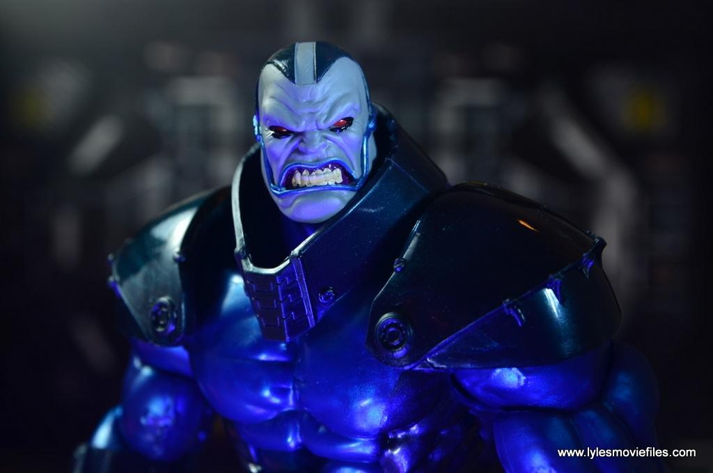 marvel legends baf apocalypse figure review - close up