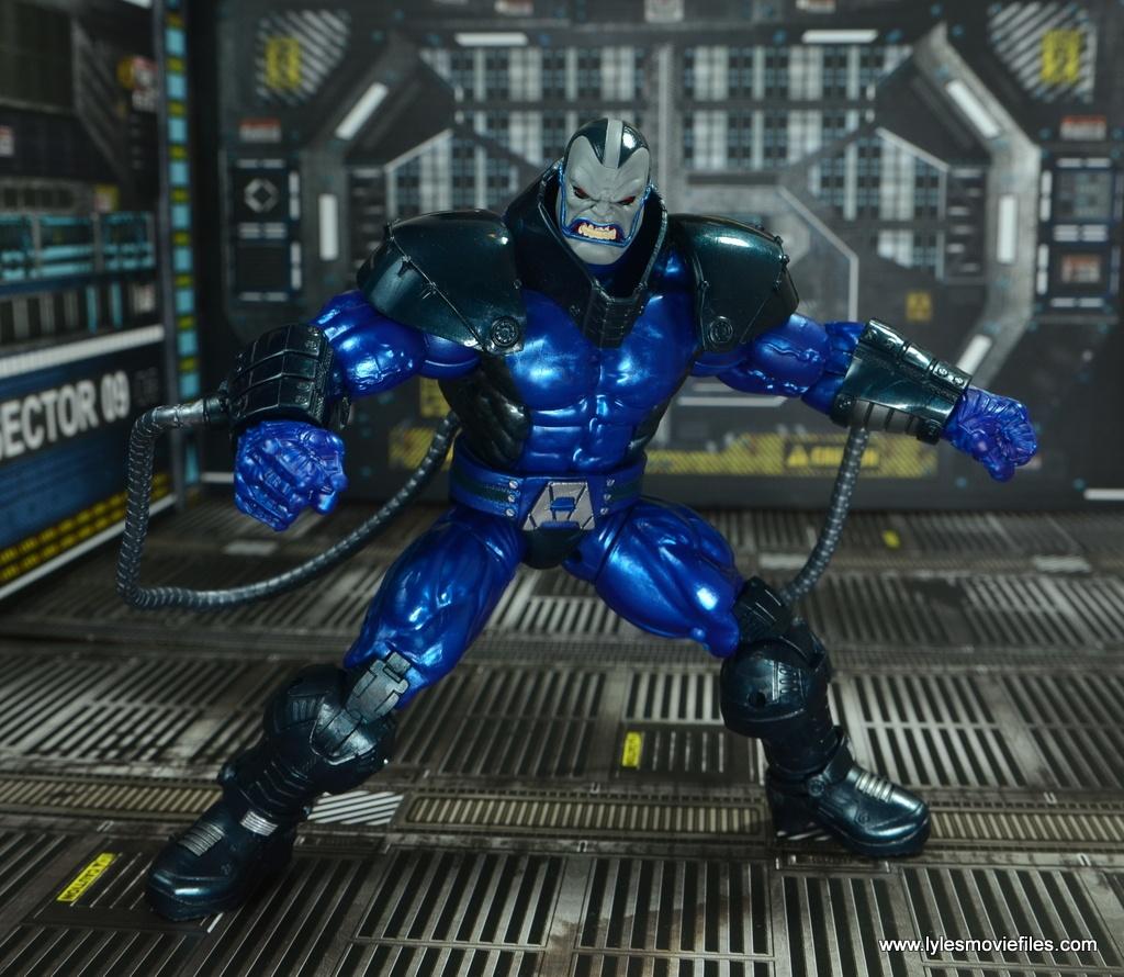 marvel legends baf apocalypse figure review - wide stance