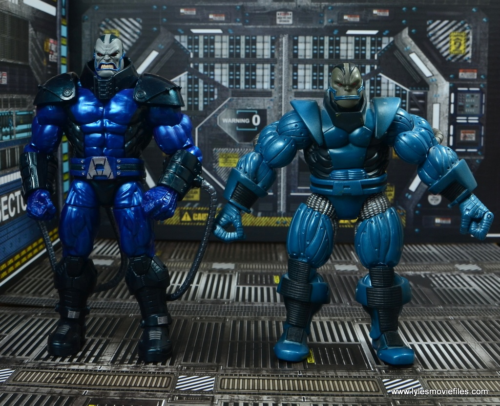 marvel legends baf apocalypse figure review -with toy biz apocalypse