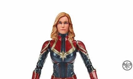Marvel Legends Captain Marvel figure wave officially up for pre-order
