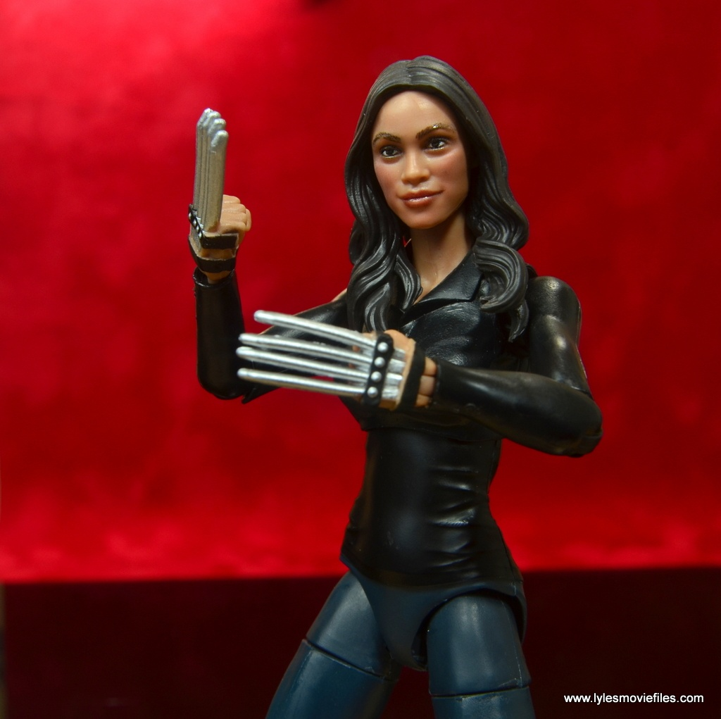 marvel legends luke cage and claire figure review - claire temple with claws