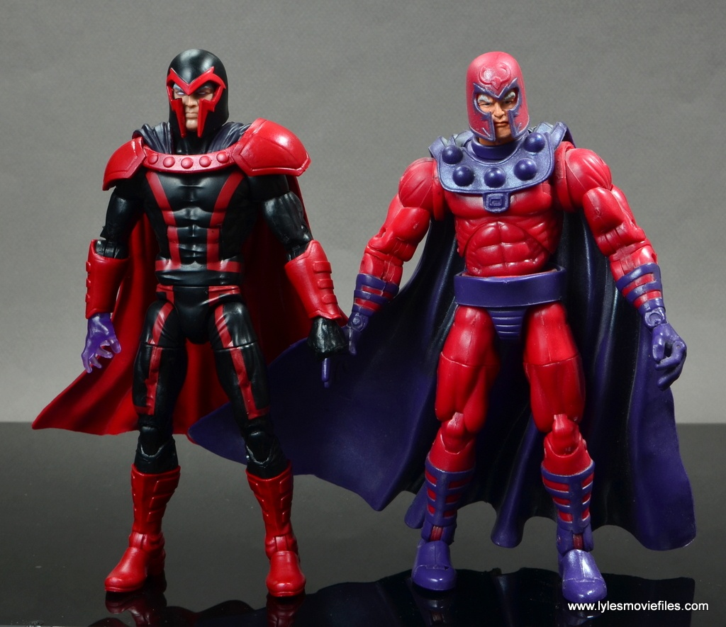 marvel legends magento review -with toy biz magneto