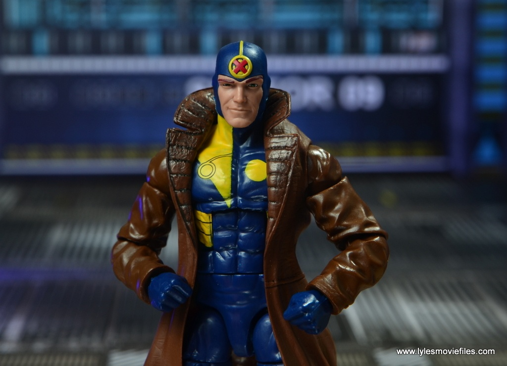 marvel legends multiple man figure review - regular head close up