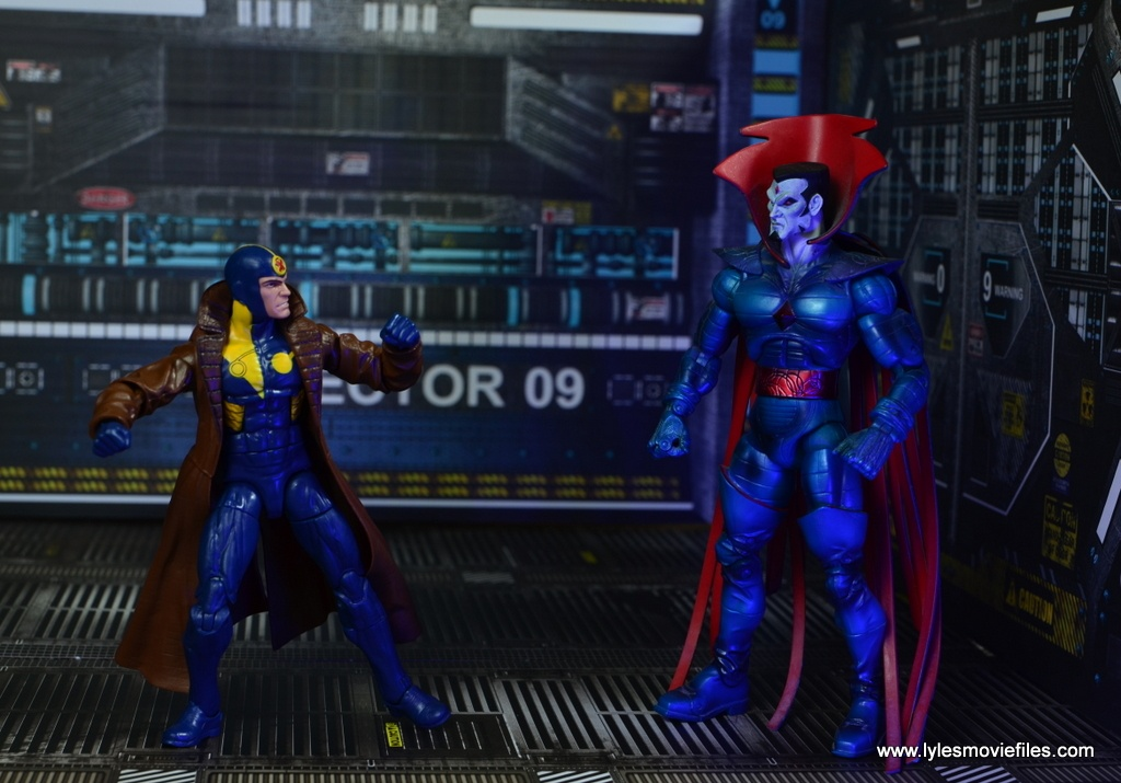 marvel legends multiple man figure review - vs mister sinister