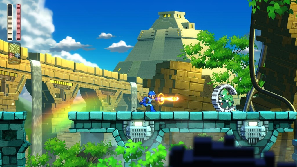 mega man 11 block man stage