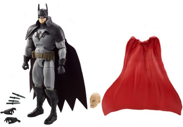 dc multiverse batman gotham by gaslight figure - with all the accessories