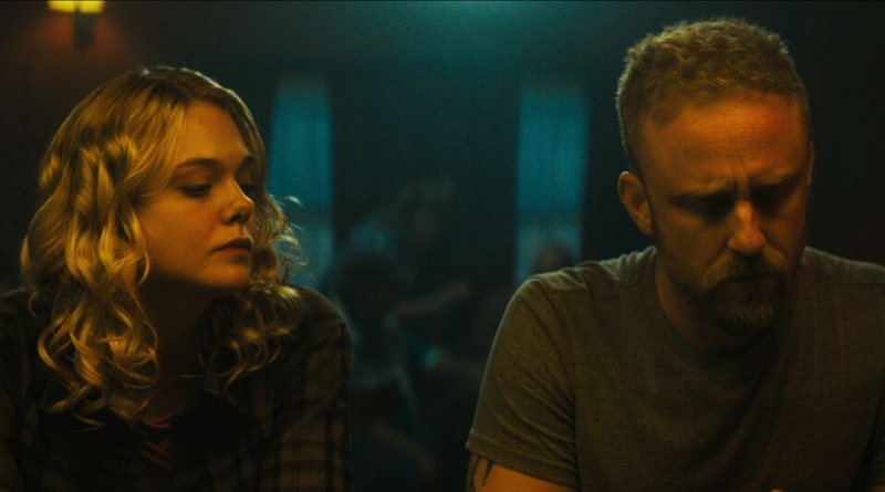galveston movie review - elle fanning and ben foster
