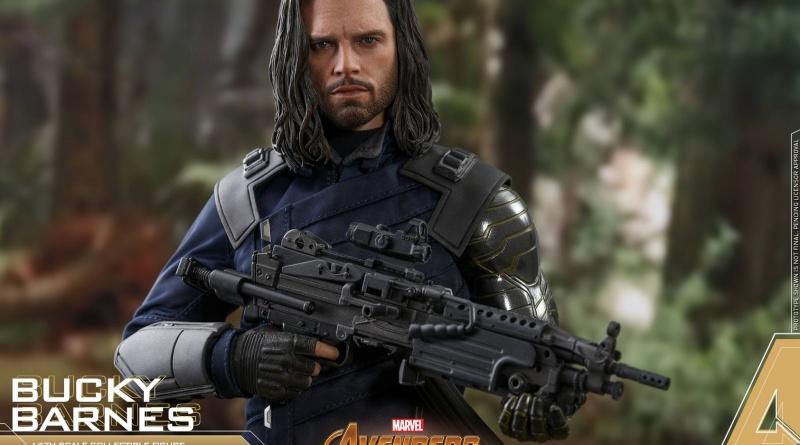 hot toys avengers infinity war bucky barnes figure -main shot